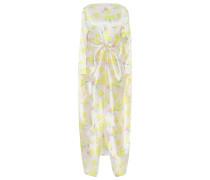 Bedrucktes Kleid Judy aus Seide