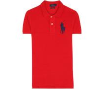 Piqué-Poloshirt aus Baumwolle