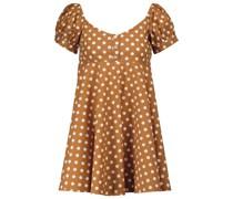 Minikleid Dina mit Polka-Dots