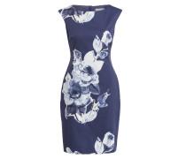 Kleid KEMBER - dunkelblau/ wollweiss