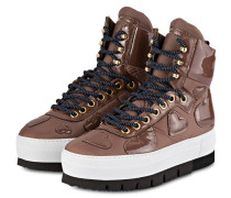 Plateau-Boots ADELE - braun