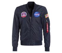 Wende-Blouson NASA 2 - marine