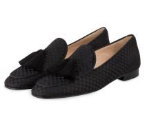 Tassel-Loafer - schwarz
