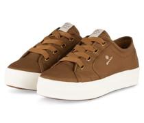Plateau-Sneaker LEISHA - HELLBRAUN