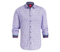 Hemd Casual Level Five body fit - violett
