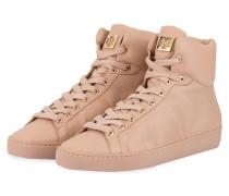 Hightop-Sneaker - nude