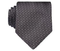 Krawatte - grau/ schwarz