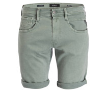 Jeans-Shorts ANBASS HYPERFLEX Slim-Fit