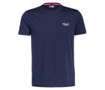 T-Shirt RUN - navy