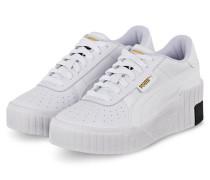 Plateau-Sneaker CALI WEDGE - WEISS