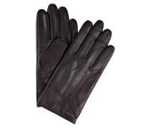 Lederhandschuhe HAINZ - dunkelbraun