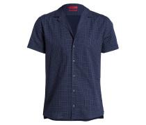 Halbarm-Hemd ENDO Relaxed-Fit - blau