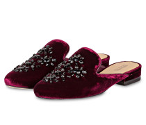 Samt-Slipper EDIE