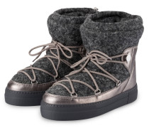 Boots NEW FANNY - grau/ silber