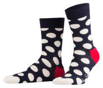 4er-Pack Socken - navy/ rot/ ecru
