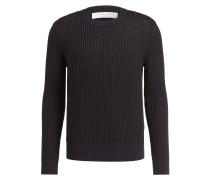 Pullover - marine/braun