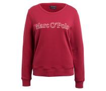 Sweatshirt - dunkelrot