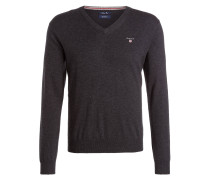 Pullover - anthrazit meliert