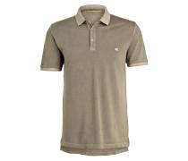 Piqué-Poloshirt - oliv