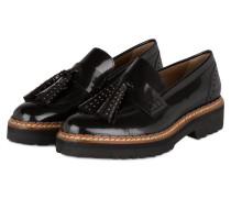 Tassel-Loafer aus Lackleder