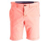 Chino-Shorts - orange