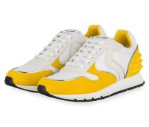 Sneaker JULIA POWER - WEISS/ DUNKELGELB
