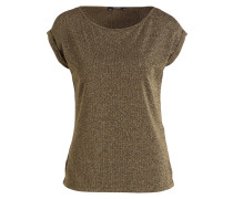 T-Shirt - oliv/ gold