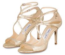 Sandaletten IVETTE - gold metallic