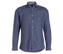 Hemd SHANE-W Slim-Fit - hellblau/ blau