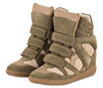 Sneaker-Wedges BEKETT - TAUPE