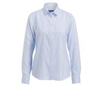 Bluse - weiss/ blau gestreift
