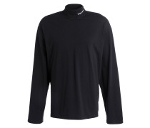 Oversized-Sweatshirt - schwarz