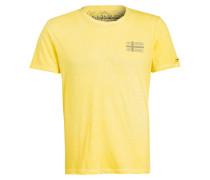 T-Shirt SNEEK - gelb