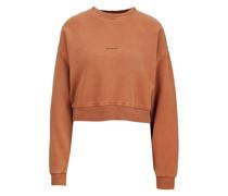 Sweatshirt BENTE SWEAT CROPPED 214 Cropped Fit