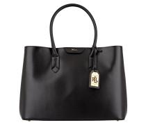 Saffiano-Handtasche TATE - schwarz
