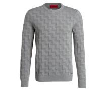 Pullover SHEVRON - grau