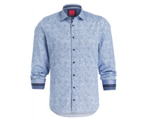 Hemd Casual Level Five body fit - blau