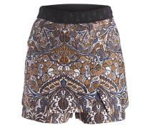 Shorts IMANE - braun/ blau/ ecru