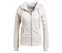 Sweatjacke SHELBY - wollweiss