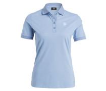 Piqué-Poloshirt NELL - hellblau