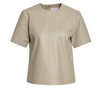 Blusenshirt AUDREY aus Leder