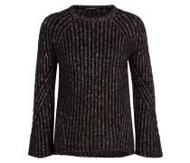 Pullover - schwarz/ braun