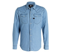 Hemd TACOMA Slim-Fit - blau