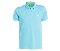 Piqué-Poloshirt PAUL Slim Fit - hellblau