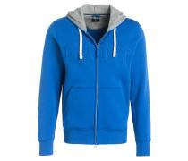 Sweatjacke - blau