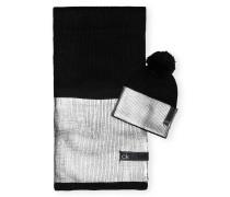 Set LAMINA Schal und Mütze in Geschenkbox