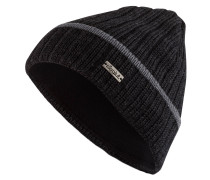 Mütze FISHER - schwarz