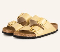 Pantoletten ARIZONA BIG BUCKLE - GOLD
