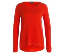 Cashmere-Pullover - neonorange