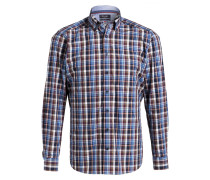 Hemd Regular-Fit - blau/ weiss/ rot